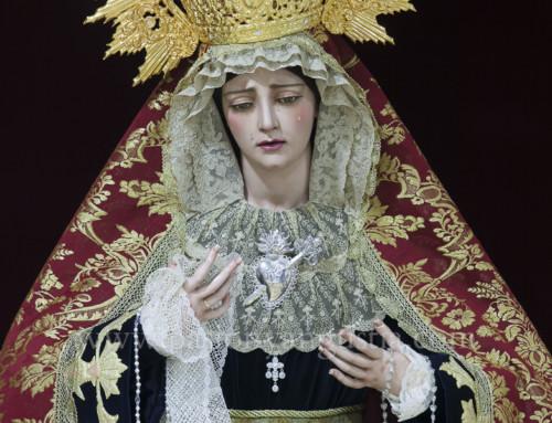 Virgen de la Angustia candelaria 2018