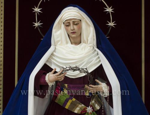 Virgen de la Angustia cuaresma 2018