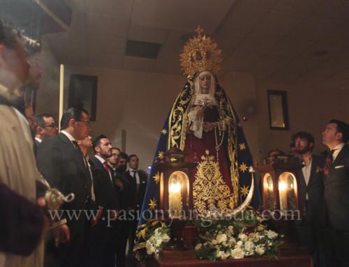 Virgen de la Angustia Rosario Vespertino 2017